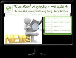 Bio-Seo News - Google Ranking Algorithmus Update