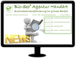 Bio-Seo News - Google PageRank ist Vergangenheit