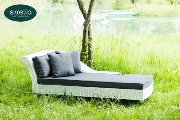 Polyrattan Chaiselongue